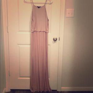 Long pink forever 21 dress